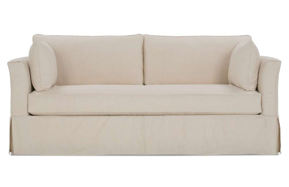 Rowe/Robin Bruce - Slipcover Sofa Bench Cushion