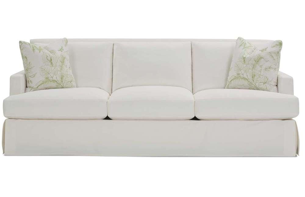 Rowe/Robin Bruce - Laney Slipcover Sofa 2 Cushion