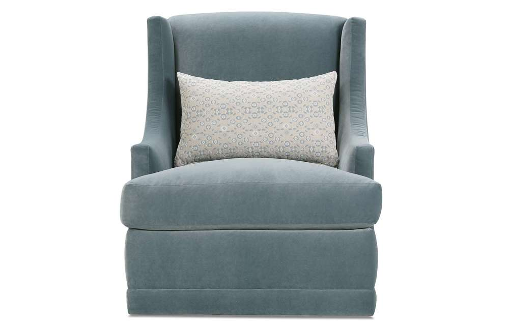 Rowe/Robin Bruce - Swivel Chair (No Nails)
