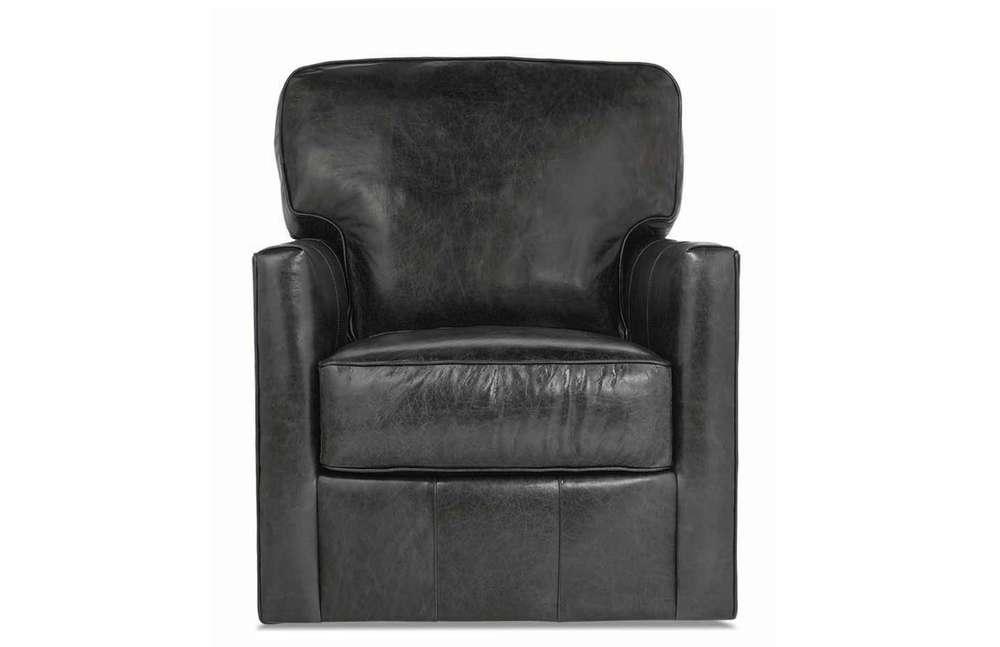 Rowe/Robin Bruce - Leather Swivel Chair