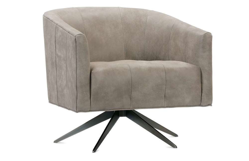 Rowe/Robin Bruce - Pate Swivel Leather Chair