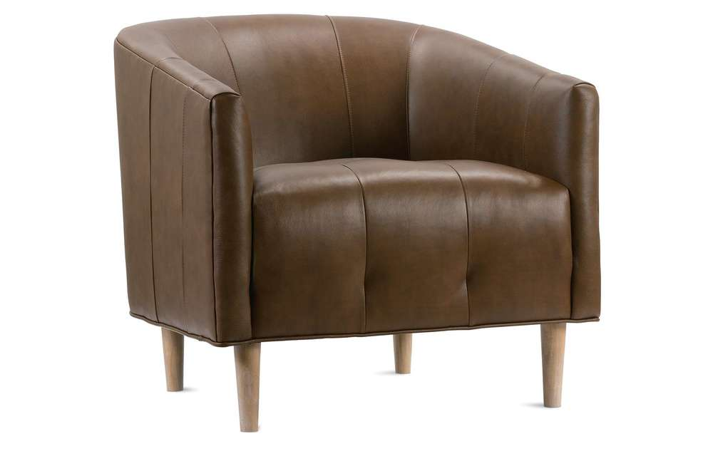 Rowe/Robin Bruce - Pate Leather Chair
