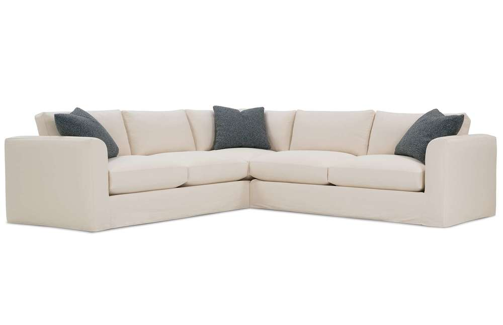 Rowe/Robin Bruce - Derby Slipcover Sectional