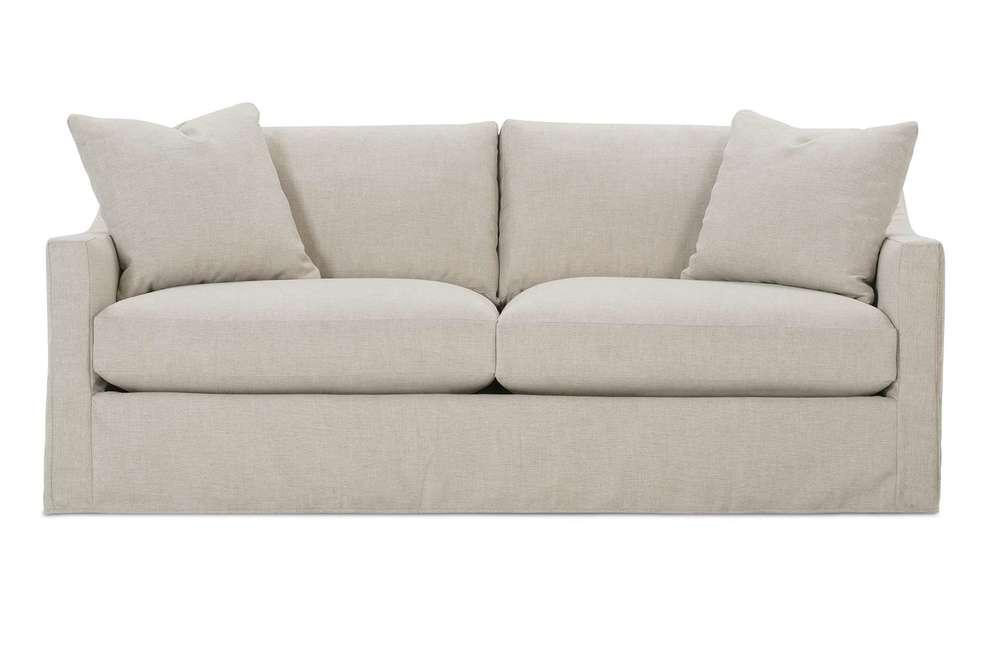 Rowe/Robin Bruce - 2 Cushion Sofa w/ Slipcover
