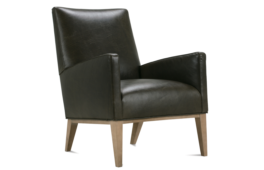 ROWE FURNITURE - Leather Accent Chair
