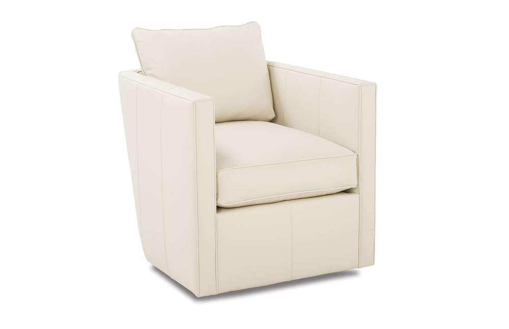 Rowe/Robin Bruce - Rothko Leather Swivel Chair