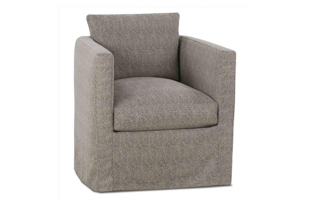 Rowe/Robin Bruce - Rothko Slip Swivel Chair