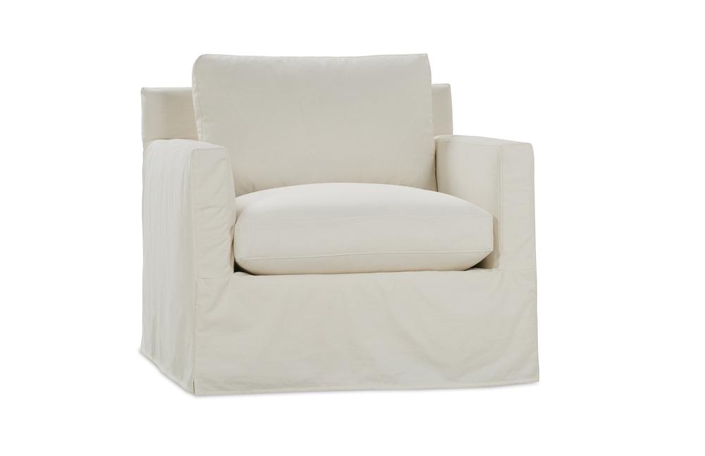 Rowe/Robin Bruce - Chair w/ Slipcover