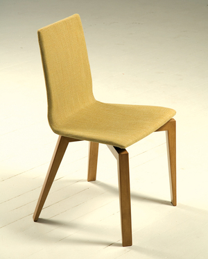 Thumbnail of Saloom Furniture - Sculpted Upholstered Chair Bucket with Base