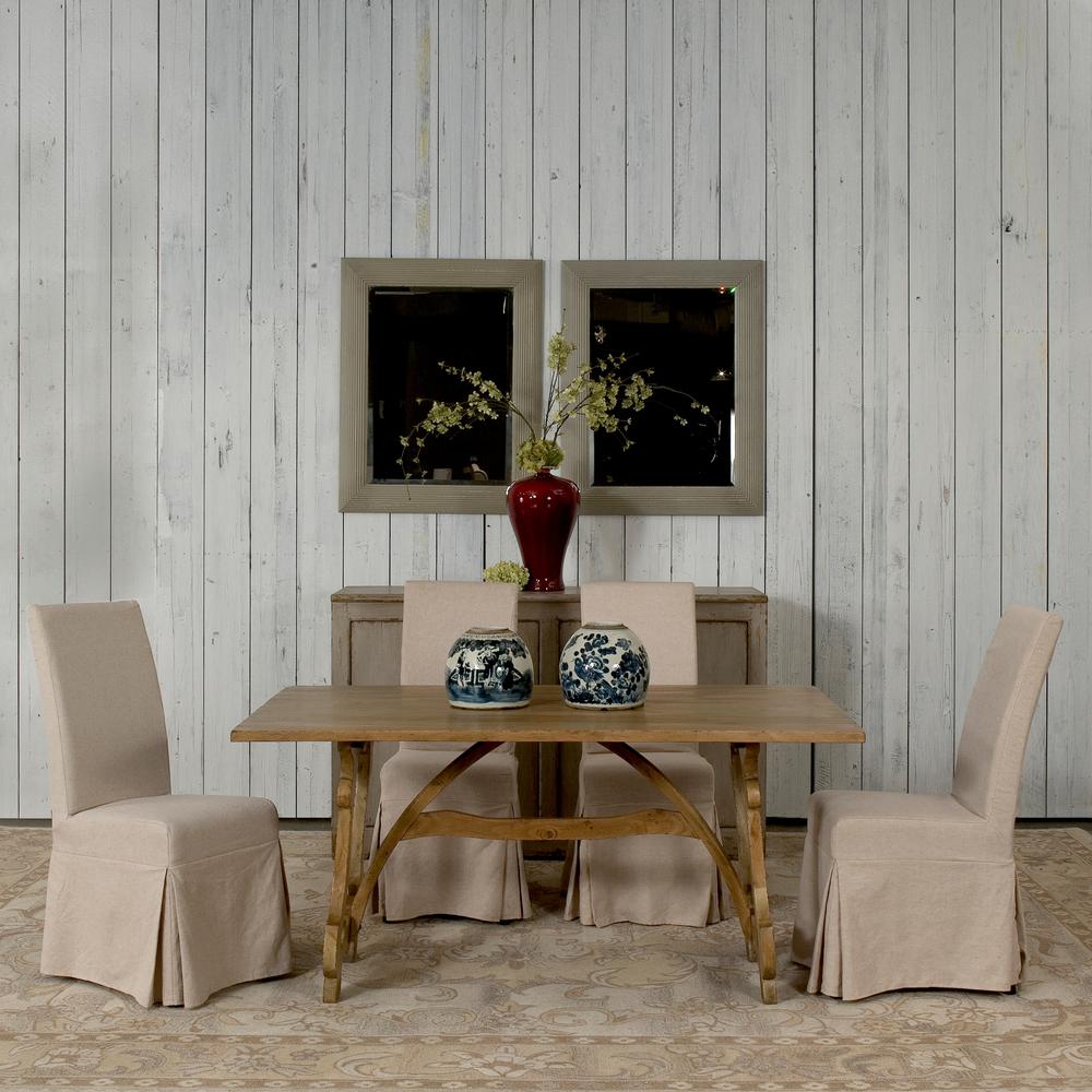 Sarreid - Calambac Dining Table, Driftwood