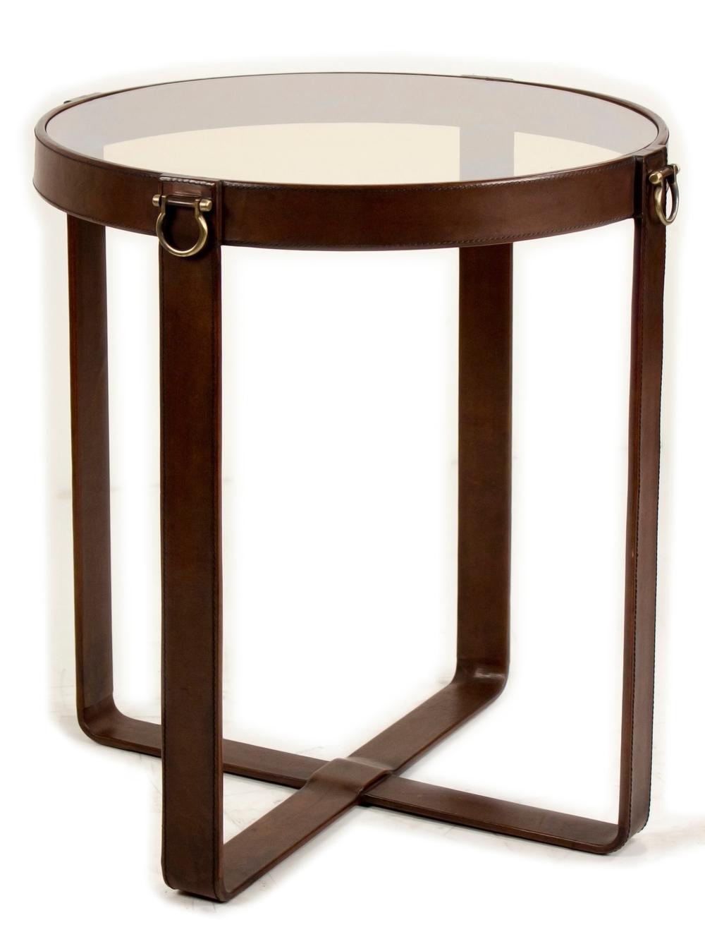 Sarreid - Leather Harness Table