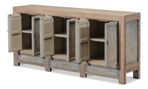 Thumbnail of Sarreid - Gansu Six Door Cabinet, Pine