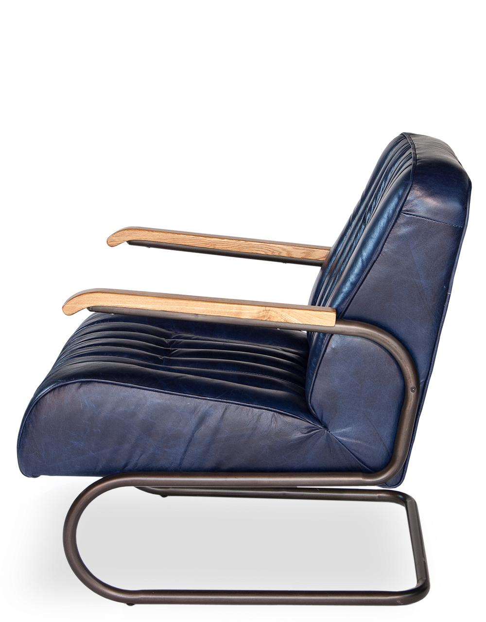Sarreid - Bel-Air Arm Chair, Blue