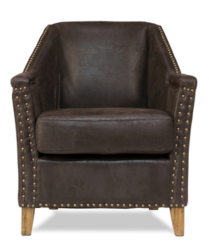 Thumbnail of Sarreid - Granville Leather Chair