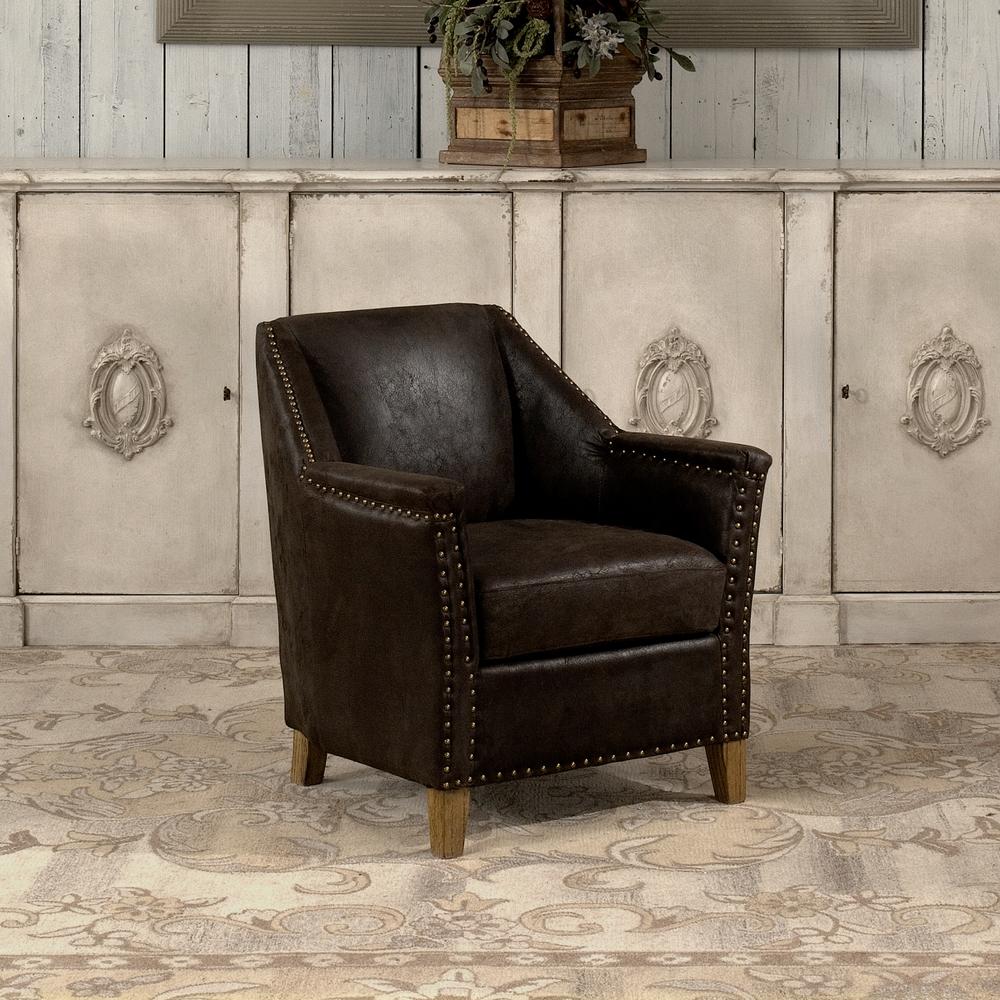 Sarreid - Granville Leather Chair