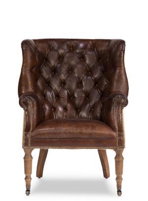 Thumbnail of Sarreid - Welsh Leather & Jute Chair
