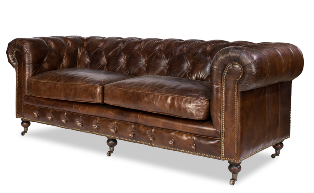 Sarreid - Caster Chesterfield Sofa