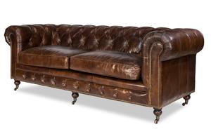 Thumbnail of Sarreid - Caster Chesterfield Sofa
