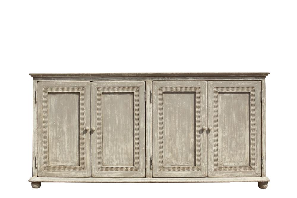 Sarreid - Pie Crust Door Cabinet