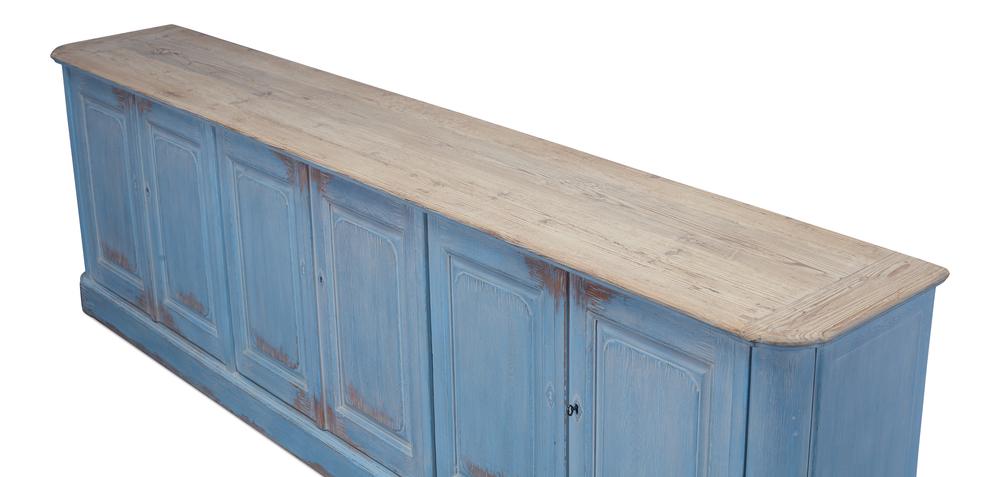 Sarreid - Sky Blue Sideboard