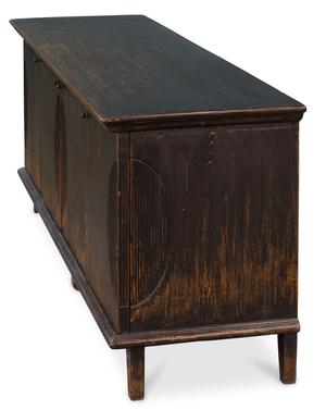 Thumbnail of Sarreid - Dark Ribbon Four Door Cabinet