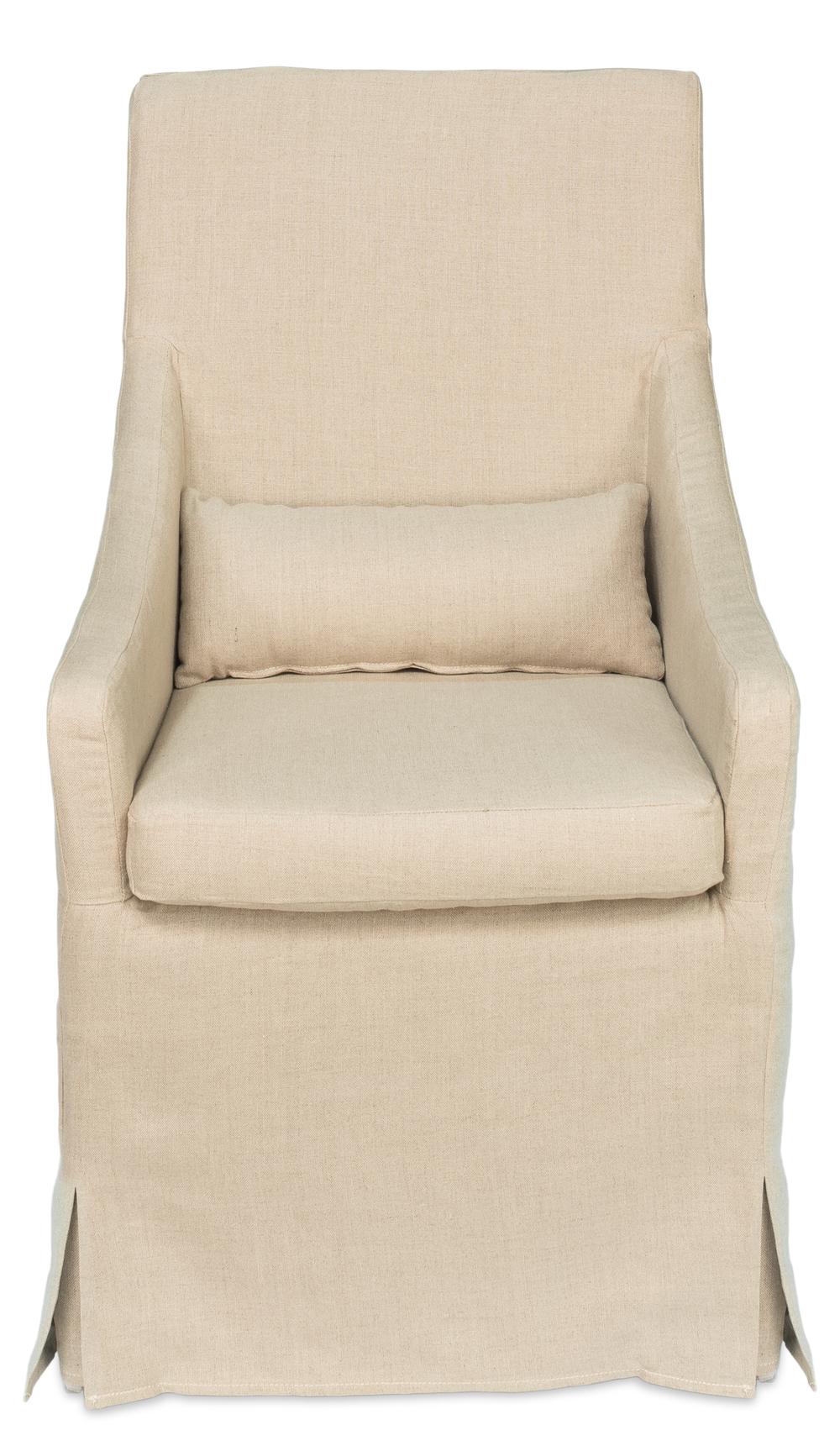 Sarreid - Skirted Arm Chair