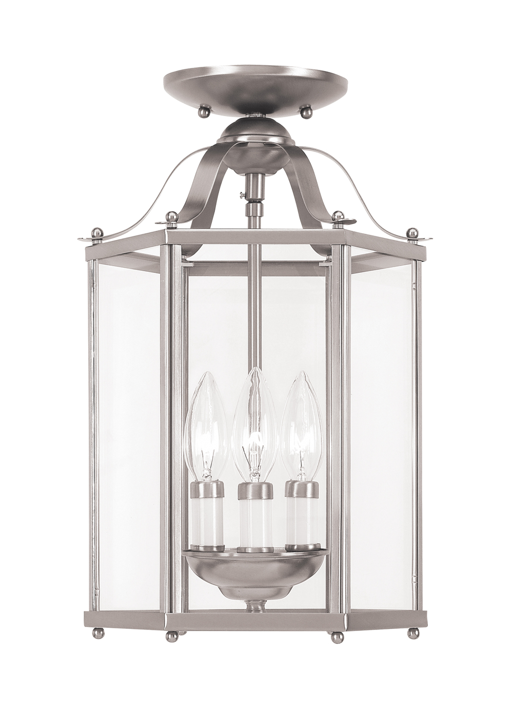 Sea Gull Lighting - Three Light Semi-Flush Convertible Pendant