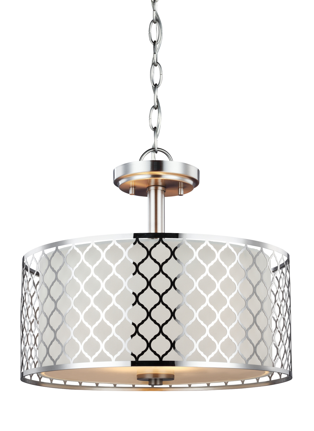 Sea Gull Lighting - Two Light Semi-Flush Convertible Pendant