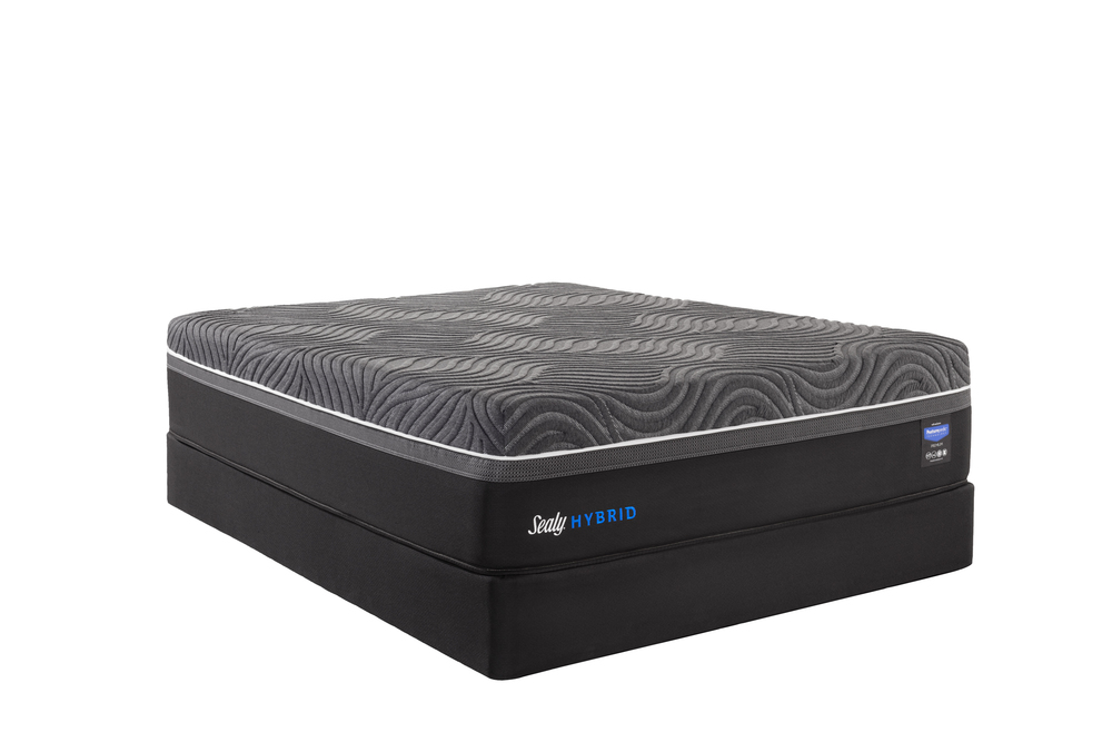 Sealy Mattress - Garner Cushion Firm Mattress with Ease 3.0 Adjustable Base