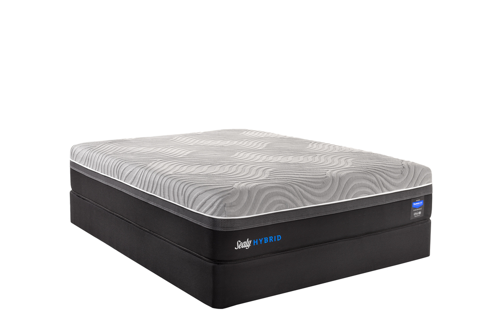 Sealy Mattress - Kelburn II Mattress with Ease 3.0 Adjustable Base