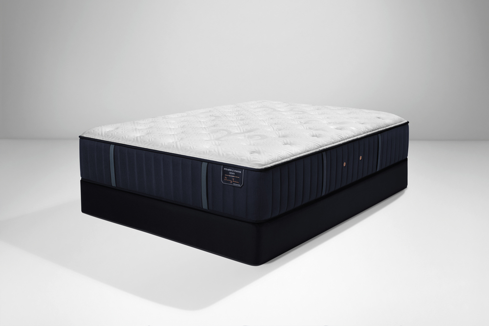 Sealy Mattress - Hurston LXF Mattress with Low Profile Box Spring