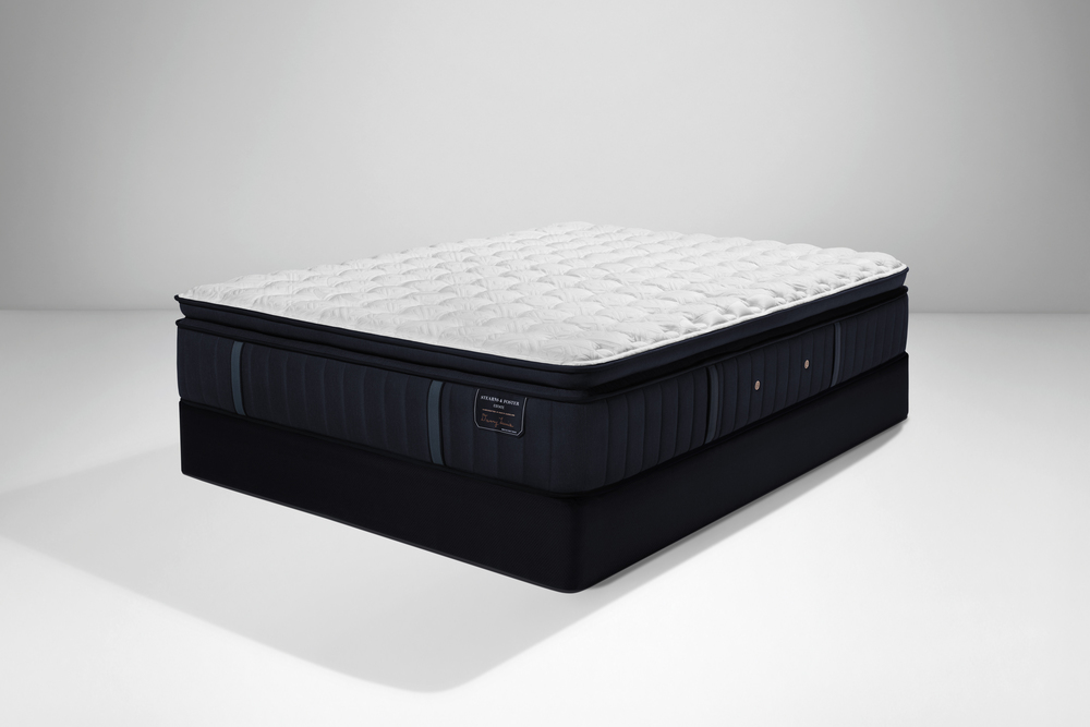 Sealy Mattress - Hurston LXF EPT Mattress with Low Profile Box Spring