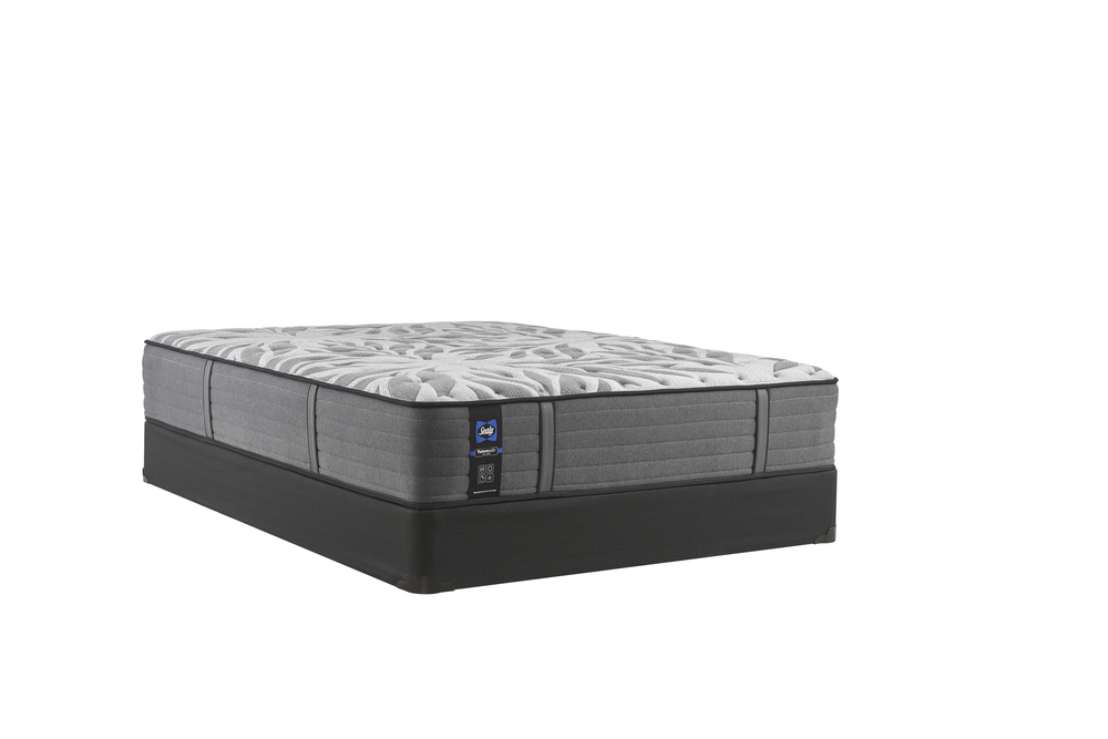 Sealy Mattress - Satisfied II Ultra Firm Mattress with Low Profile Box Spring