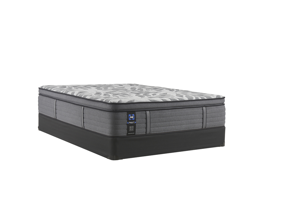 Sealy Mattress - Satisfied II Soft EPT Mattress with Low Profile Box Springs