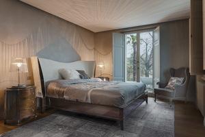 Thumbnail of Selva - Double Bed Upholstered Headboard