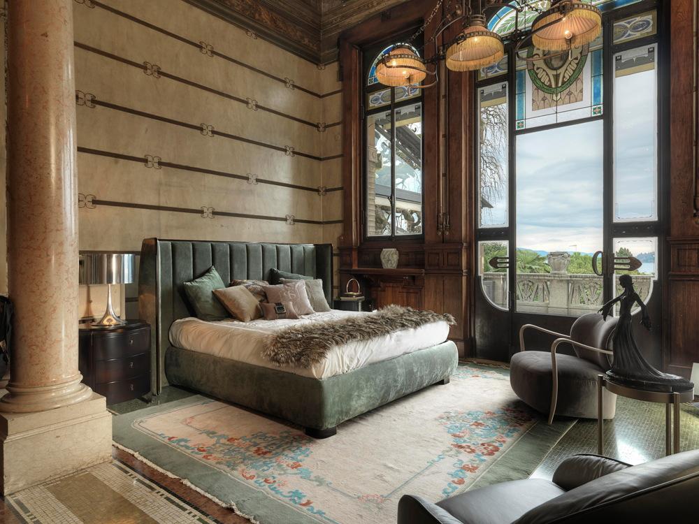 Selva - Upholstered Double Bed Headboard