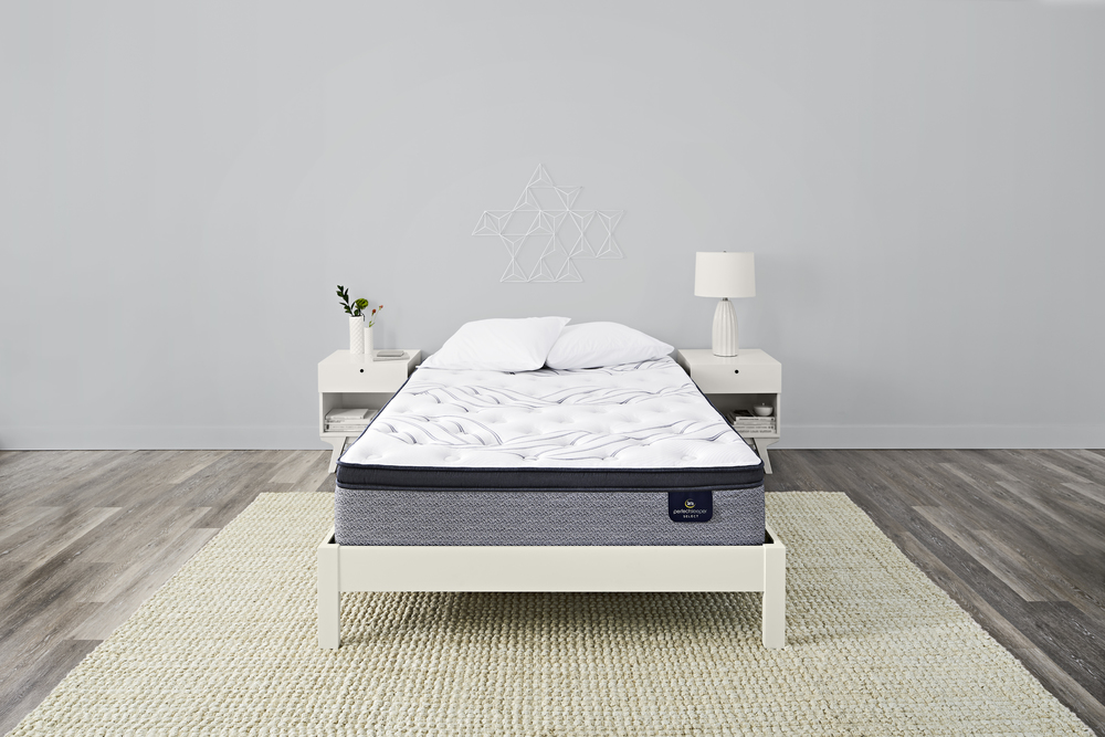 Serta Mattress - Kleinmon II Firm PT Mattress with Low Profile Box Spring