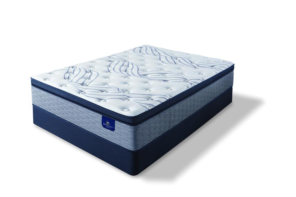 Serta Mattress - Kleinmon II Firm PT Mattress with Standard Box Spring