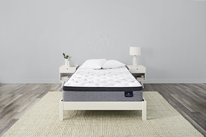 Thumbnail of Serta Mattress - Kleinmon II Plush PT Mattress with Low Profile Box Springs