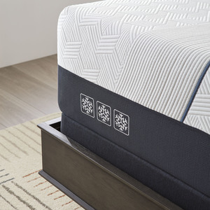 Thumbnail of Serta Mattress - iComfort CF3000 Non-Quilted Hybrid Medium Mattress with Low Profile Box Spring