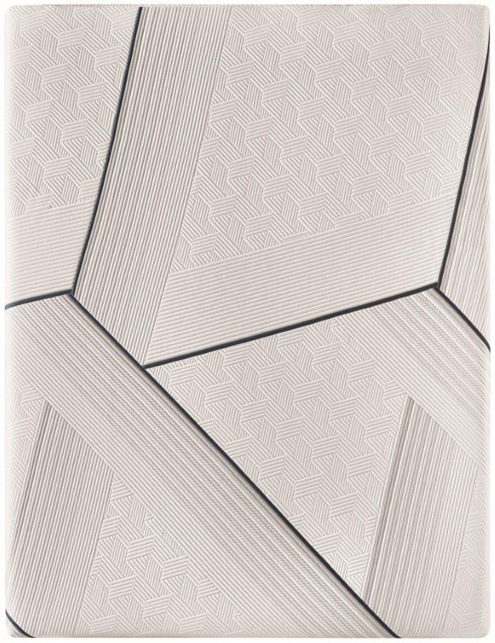 Serta Mattress - iComfort CF3000 Non-Quilted Hybrid Medium Mattress with Standard Box Spring