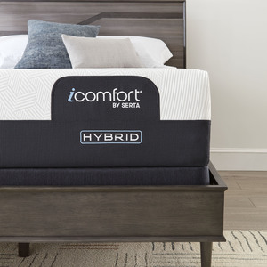 Thumbnail of Serta Mattress - iComfort CF3000 Non-Quilted Hybrid Medium Mattress with Low Profile Box Spring