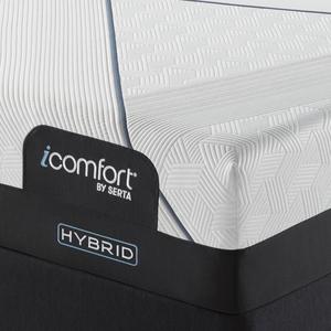 Thumbnail of Serta Mattress - iComfort CF3000 Non-Quilted Hybrid Medium Mattress with Motion Perfect IV Adjustable Base