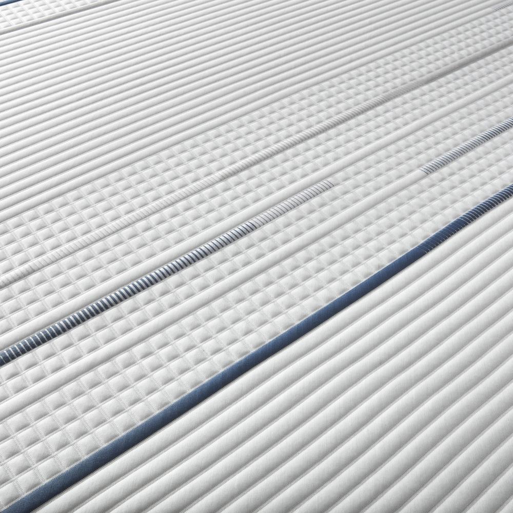 Serta Mattress - iComfort Foam CF4000 Plush Mattress with Low Profile Box Spring