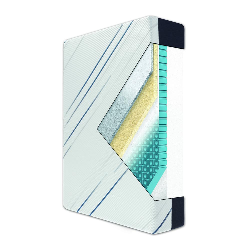 Serta Mattress - iComfort Foam CF4000 Plush Mattress with Motion Essentials IV Adjustable Base