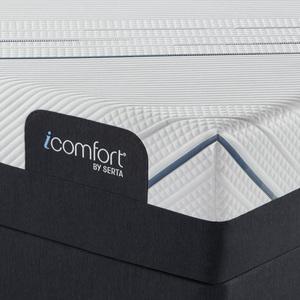 Thumbnail of Serta Mattress - iComfort Foam CF4000 Plush Mattress with Motion Essentials IV Adjustable Base