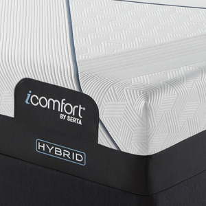 Thumbnail of Serta Mattress - iComfort CF3000 Non-Quilted Hybrid Plush Mattress with Low Profile Box Spring