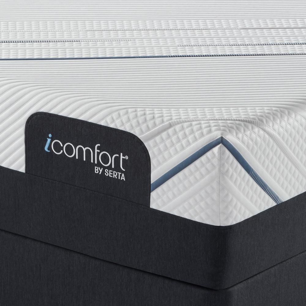 Serta Mattress - iComfort Foam CF4000 Firm Mattress with Motion Essentials IV Adjustable Base