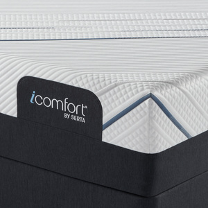 Thumbnail of Serta Mattress - iComfort Foam CF4000 Firm Mattress with Low Profile Box Spring