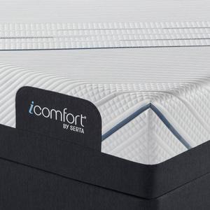 Thumbnail of Serta Mattress - iComfort Foam CF3000 Medium Mattress with Motion Perfect IV Adjustable Base